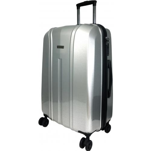 valise rigide david jones grande taille 77 cm l grey ba20691g couleur principale l. Black Bedroom Furniture Sets. Home Design Ideas