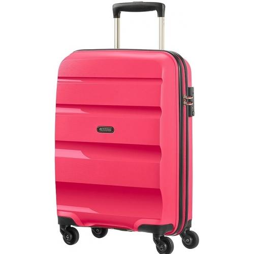 valise cabine bon air american tourister 55cm bonair22 couleur principale rose valise. Black Bedroom Furniture Sets. Home Design Ideas