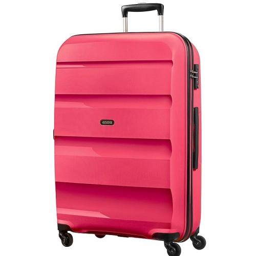 valise rigide bon air american tourister 75cm rose bonair24 couleur principale rose. Black Bedroom Furniture Sets. Home Design Ideas