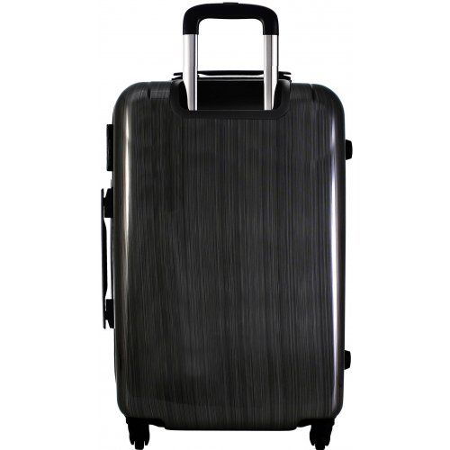 valise rigide david jones taille g 76cm ba20591g couleur principale black fabric valise. Black Bedroom Furniture Sets. Home Design Ideas