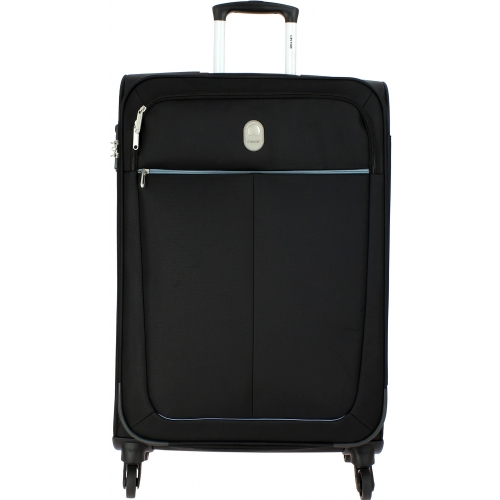valise souple delsey caleo 78 cm caleo821 couleur principale noir valise pas cher. Black Bedroom Furniture Sets. Home Design Ideas