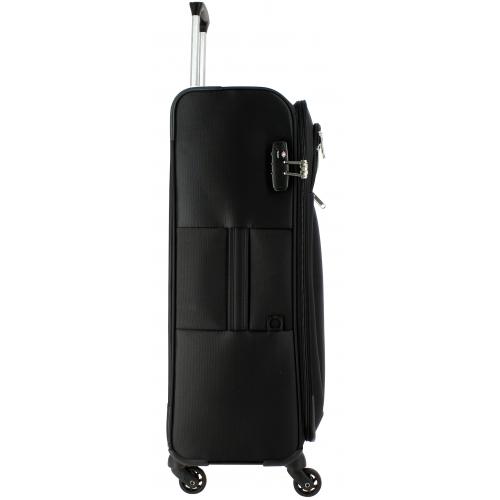 valise souple delsey caleo grande taille 78 cm caleo821 couleur principale noir. Black Bedroom Furniture Sets. Home Design Ideas