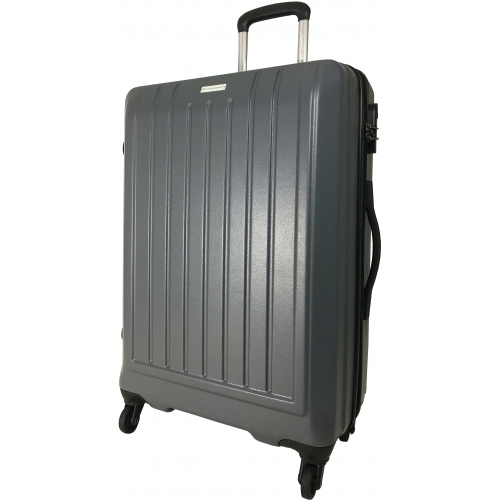 valise rigide david jones grande taille 76cm ba10151g couleur principale d grey. Black Bedroom Furniture Sets. Home Design Ideas