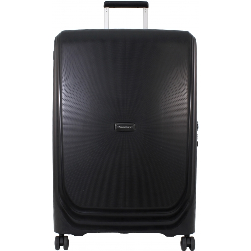 Valise rigide Samsonite Optic 75 cm Metallic Black noir pyzJ02lS