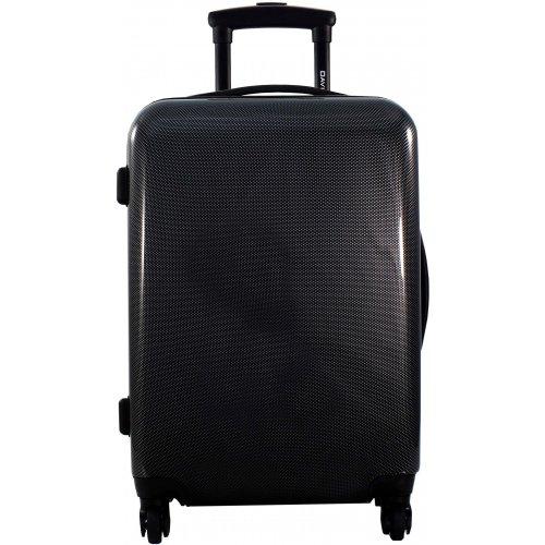 lot 3 valises dont 1 cabine ryanair david jones ba20603 couleur principale black squares. Black Bedroom Furniture Sets. Home Design Ideas