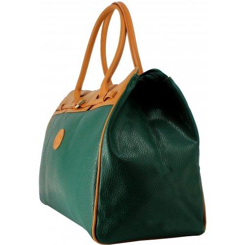 sac de voyage 48h david jones 77775c couleur principale vert promotion. Black Bedroom Furniture Sets. Home Design Ideas