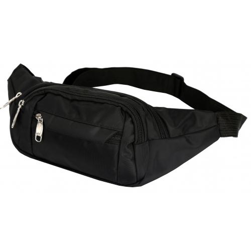 sac banane homme les sacs de krlot hkg0497 couleur noir. Black Bedroom Furniture Sets. Home Design Ideas