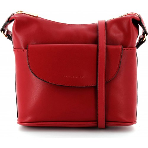 sac main bandouli re cuir david jones dja13234 couleur bordeaux promotion. Black Bedroom Furniture Sets. Home Design Ideas