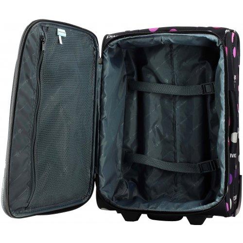 valise cabine ryanair david jones ba50261p couleur principale pois petits roses promotion. Black Bedroom Furniture Sets. Home Design Ideas