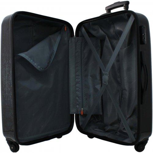 valise rigide david jones grande taille 76 cm ba20521g jean couleur principale jean. Black Bedroom Furniture Sets. Home Design Ideas