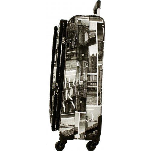 valise souple david jones taille m 66cm ba50271m couleur principale brooklyn promotion. Black Bedroom Furniture Sets. Home Design Ideas