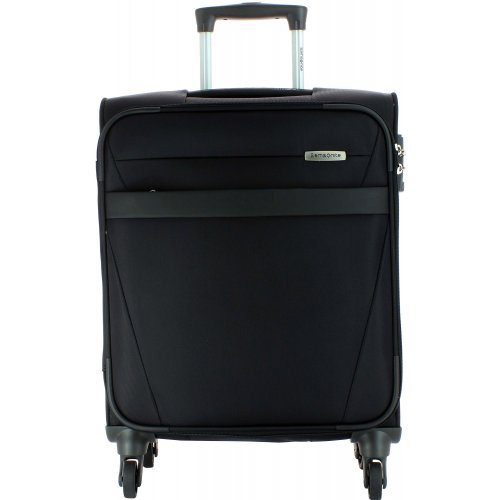 valise cabine samsonite ncs auva 55cm ncsauva20 couleur principale noir promotion. Black Bedroom Furniture Sets. Home Design Ideas