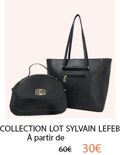 Collection de sac à main Sylvain Lefebvre