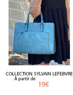 Lot de 2 sac à main Sylvain Lefebvre