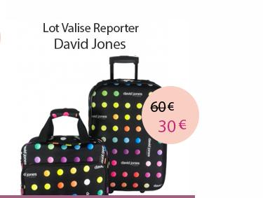 Valise vanity et reporter