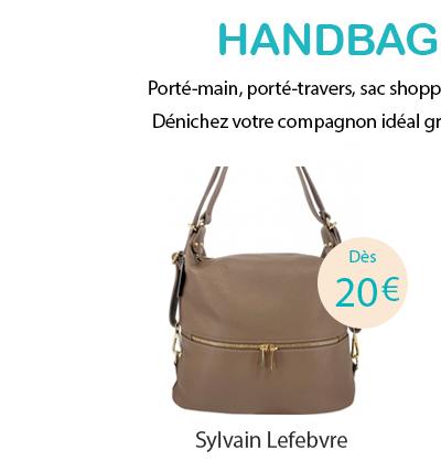 Sac à main Sylvain Lefebvre