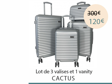 Lot de bagages